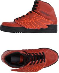 Jeremy Scott for adidas - High-tops & Sneakers - Lyst