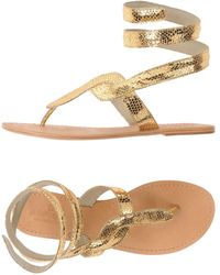 Aspiga - Toe Strap Sandal - Lyst