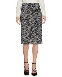 Pf Paola Frani - Knee Length Skirt - Lyst