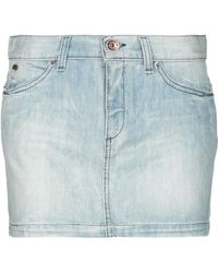Miss Sixty - Denim Skirt - Lyst