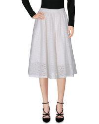 YMC | 3/4 Length Skirt | Lyst