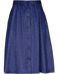 Maison Kitsuné - Knee Length Skirt - Lyst