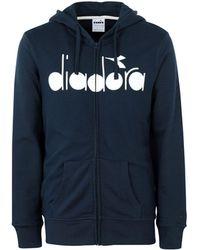 Diadora - Hooded Sweatshirt - Lyst