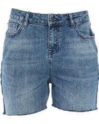 SELECTED - Denim Shorts - Lyst