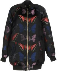 a44bd4ced7a2a Valentino Butterfly Embroidered Tie Dye Print Denim Kimono Jacket - Lyst