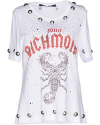 John Richmond - T-shirt - Lyst