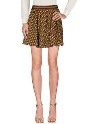 DV ROMA - Mini Skirt - Lyst