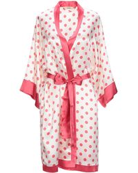 d847adf23b Lyst - Vivis Dressing Gown in Purple