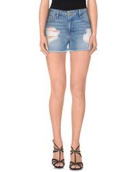 FRAME - Denim Shorts - Lyst