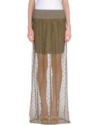 Manila Grace - Long Skirt - Lyst