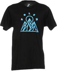 Poler T-shirts - Schwarz