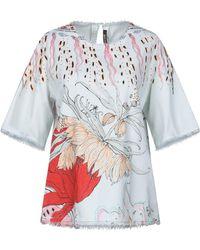 Roberto Cavalli - Denim Shirt - Lyst