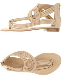 La Bottega Dell'artigiano - Toe Post Sandal - Lyst