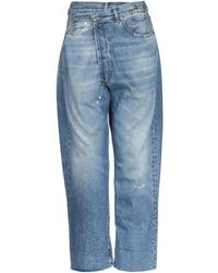 R13 - Pantaloni jeans - Lyst