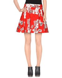 Olympia Le-Tan - Mini Skirt - Lyst