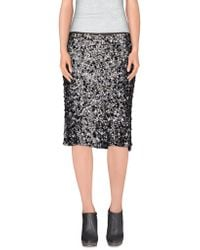 Maliparmi - Knee Length Skirt - Lyst