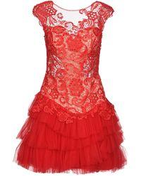 Colette - Short Dress - Lyst