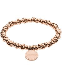 Emporio Armani - Bracelets - Lyst