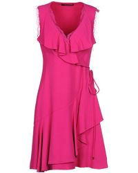 Roberto Cavalli - Short Dress - Lyst