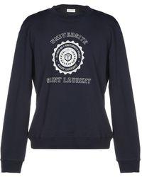 9783879077b Saint Laurent Black Université Hoodie in Black for Men - Lyst