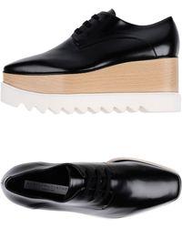 Stella McCartney - Zapatos de cordones - Lyst