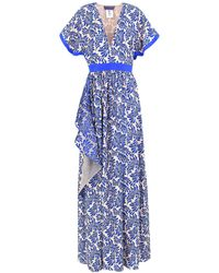 Emanuel Ungaro Long Dress - Blue