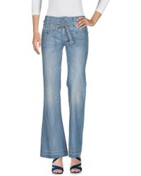 Billabong - Denim Capris - Lyst