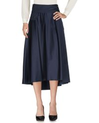 Peuterey - 3/4 Length Skirt - Lyst