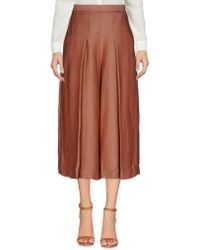 Ivories - 3/4-length Trousers - Lyst