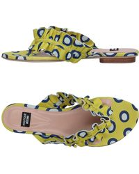Boutique Moschino - Toe Strap Sandal - Lyst