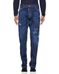 DSquared² - Pantaloni jeans - Lyst