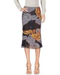 Emanuel Ungaro - 3/4 Length Skirt - Lyst