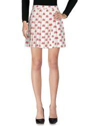 Au Jour Le Jour - Knee Length Skirts - Lyst