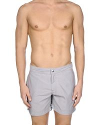Brunello Cucinelli - Swim Trunks - Lyst
