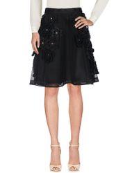 Noir Kei Ninomiya - Knee Length Skirt - Lyst