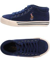 Ralph Lauren - High-tops & Sneakers - Lyst