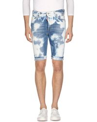 DSquared² - Denim Bermudas - Lyst