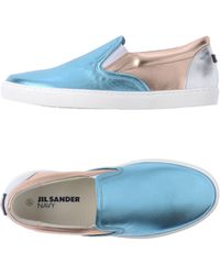 Jil Sander Navy - Low-tops & Trainers - Lyst