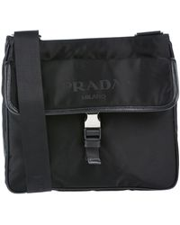 892b6a7cdfdb Lyst - Prada Cross-body Bag in Black for Men