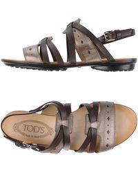 Tod's - Sandalias - Lyst