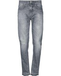 05dd4d888d5 Lyst - Pantalones vaqueros Versace Jeans de hombre de color Gris