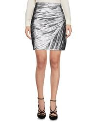 Saint Laurent - Knee Length Skirt - Lyst