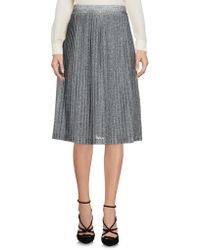 Just Female - Knee Length Skirts - Lyst