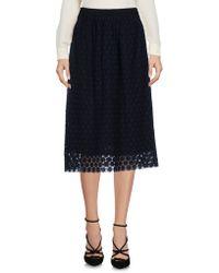 Orla Kiely - 3/4 Length Skirt - Lyst