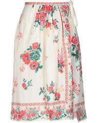 Leon & Harper - 3/4 Length Skirt - Lyst