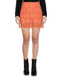 Related - Mini Skirt - Lyst