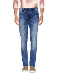 Lyst - Antony Morato Duran Carrot Stretch Jeans in Blue for Men 4234d051f5f