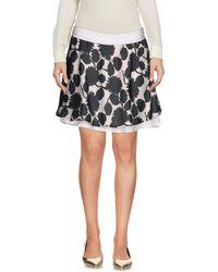 CafeNoir - Mini Skirt - Lyst