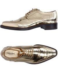 Calvin Klein - Lace-up Shoe - Lyst