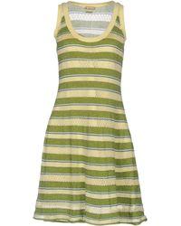 John Galliano Short Dress - Green